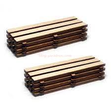 Proses - Carga de tablones de madera, dos unidades, Escala H0, Ref: HL-K-04.