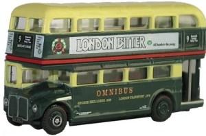 Oxford - Autobus de dos pisos Shillibeer Transport Routemaster Bus, Escala N, Ref: NRM002.
