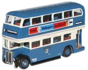 Oxford - Autobus de dos pisos Bradford RT Bus, Escala N, Ref: NRT003.