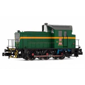 Arnold - Locomotora Diésel 303.035, Colores Verde - Amarillo, Analogica, Escala N. Ref: HN2510