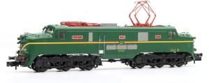 Arnold - Locomotora Electrica Renfe 277.003 ( Verde-Amarillo ) Rejillas Plata, Escala N, Analogica. Ref: HN2516
