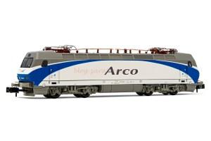 "Arnold - Locomotora Elect. Renfe "" Arco "" ( Blanco-Azul-Gris ), Epoca V, Escala N, Analogica. Ref: HN2450"