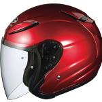 バイクのヘルメットはジェットタイプ