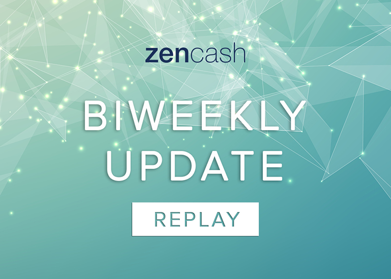 zencash biweekly update collection cover