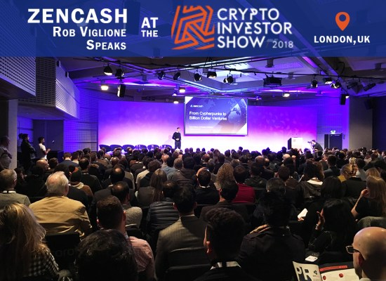 ZenCash at the London Crypto Investor show