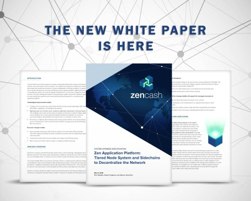 ZenCash Super-Nodes-white-paper-is-here