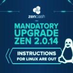 Mandatory Upgrade: Zen 2.0.14