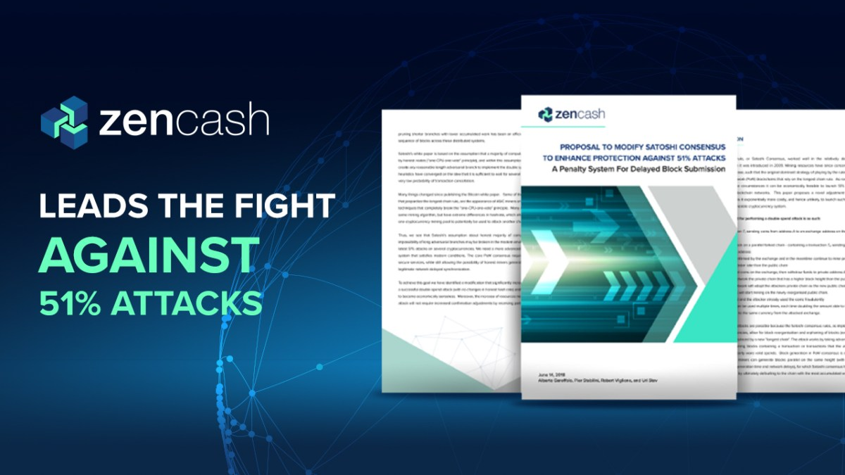 ZenCash: A Proposal to Fight Against The 51% Attack