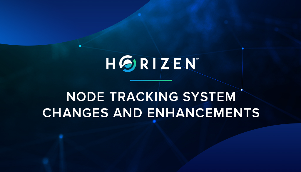 Node Tracking System Changes and Enhancements