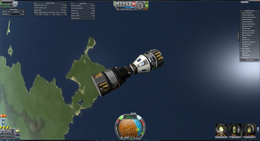 Gemini 7/6A Docking Complete!
