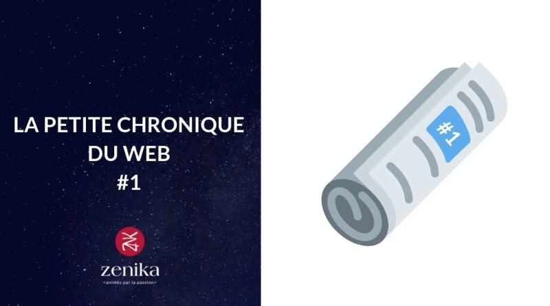 Blog Zenika - Chronique Web 1