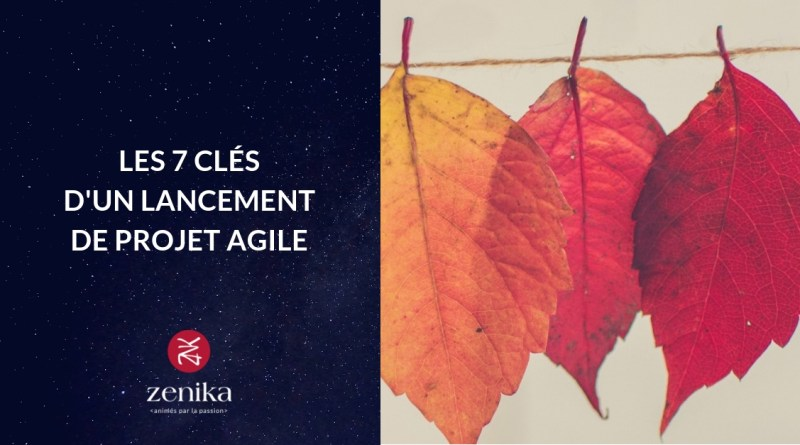 Blog Zenika - lancement projet agile