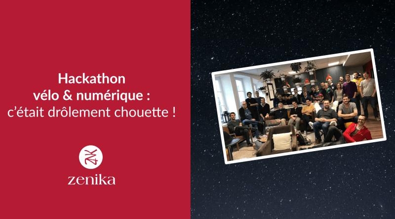Hackathon vélo et numérique : c'était drôlement chouette !