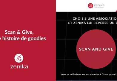 Scan & Give, une histoire de goodies