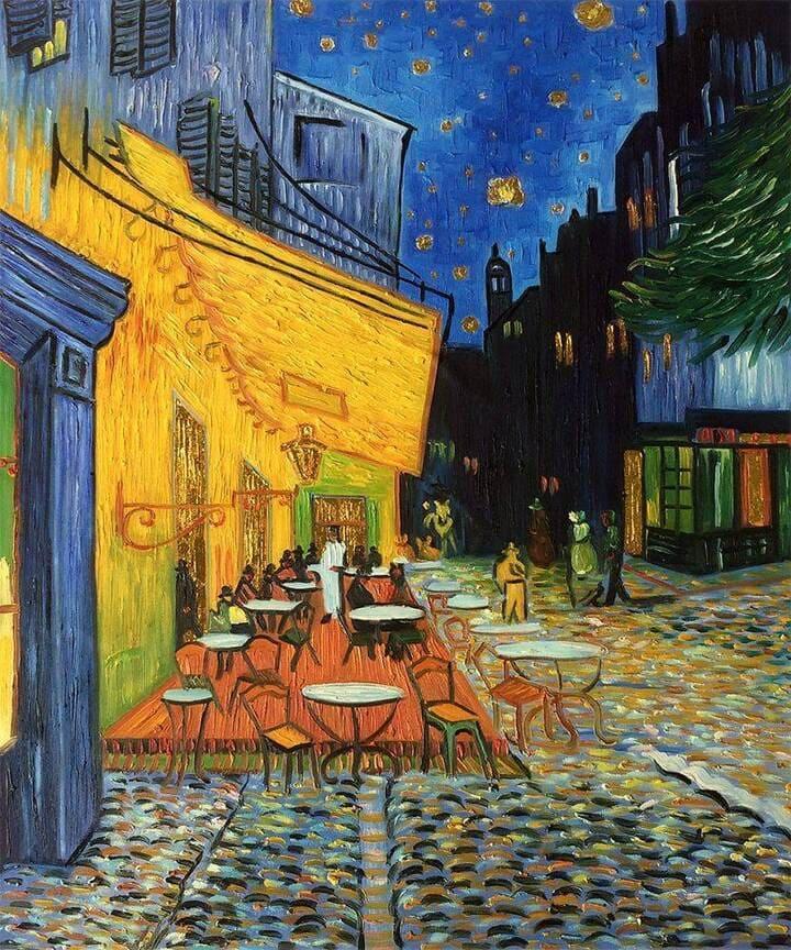 Cafe Terrace de la Nuit