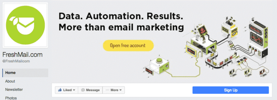 how to integrate email with social media markerting