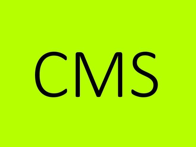 Bild eines CMS