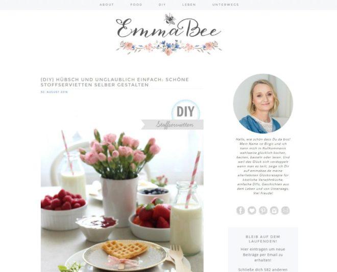 EmmaBee Startseite