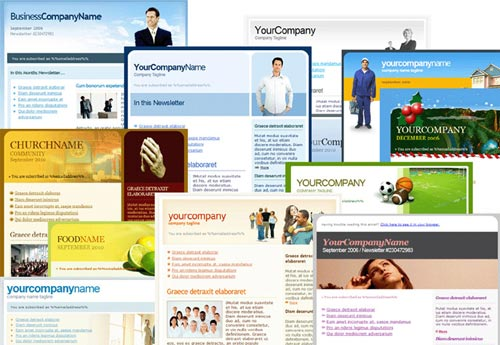 Email templates Zeta Mail