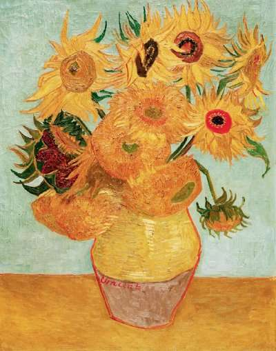 Flowers at Famous Impressionist Paintings