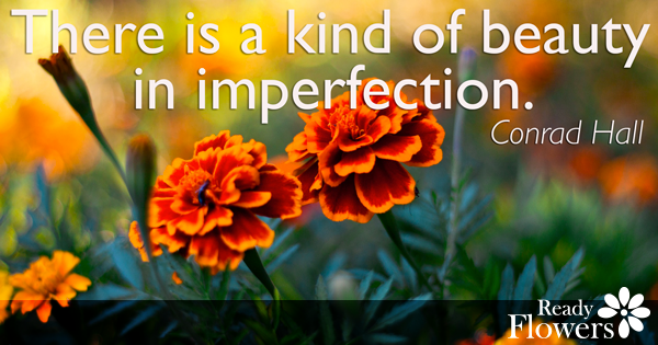 Beauty in imperfection