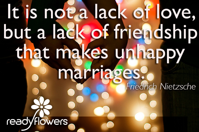 Lack of friendship