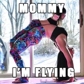 MOM im flying