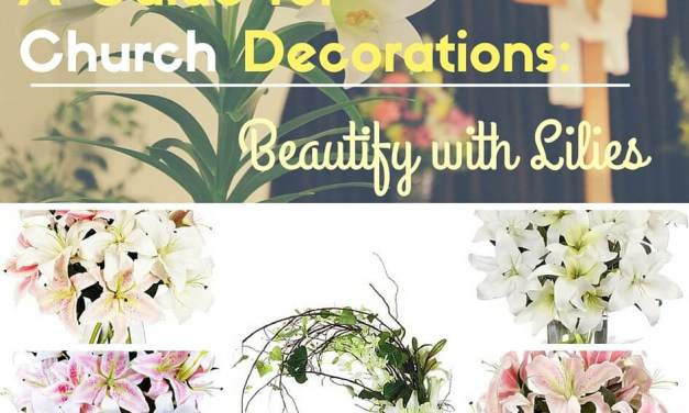 Church Floral Decorations: Beautify with Lilies