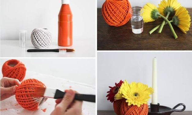 10 DIY Floral Containers You Can Do At Home