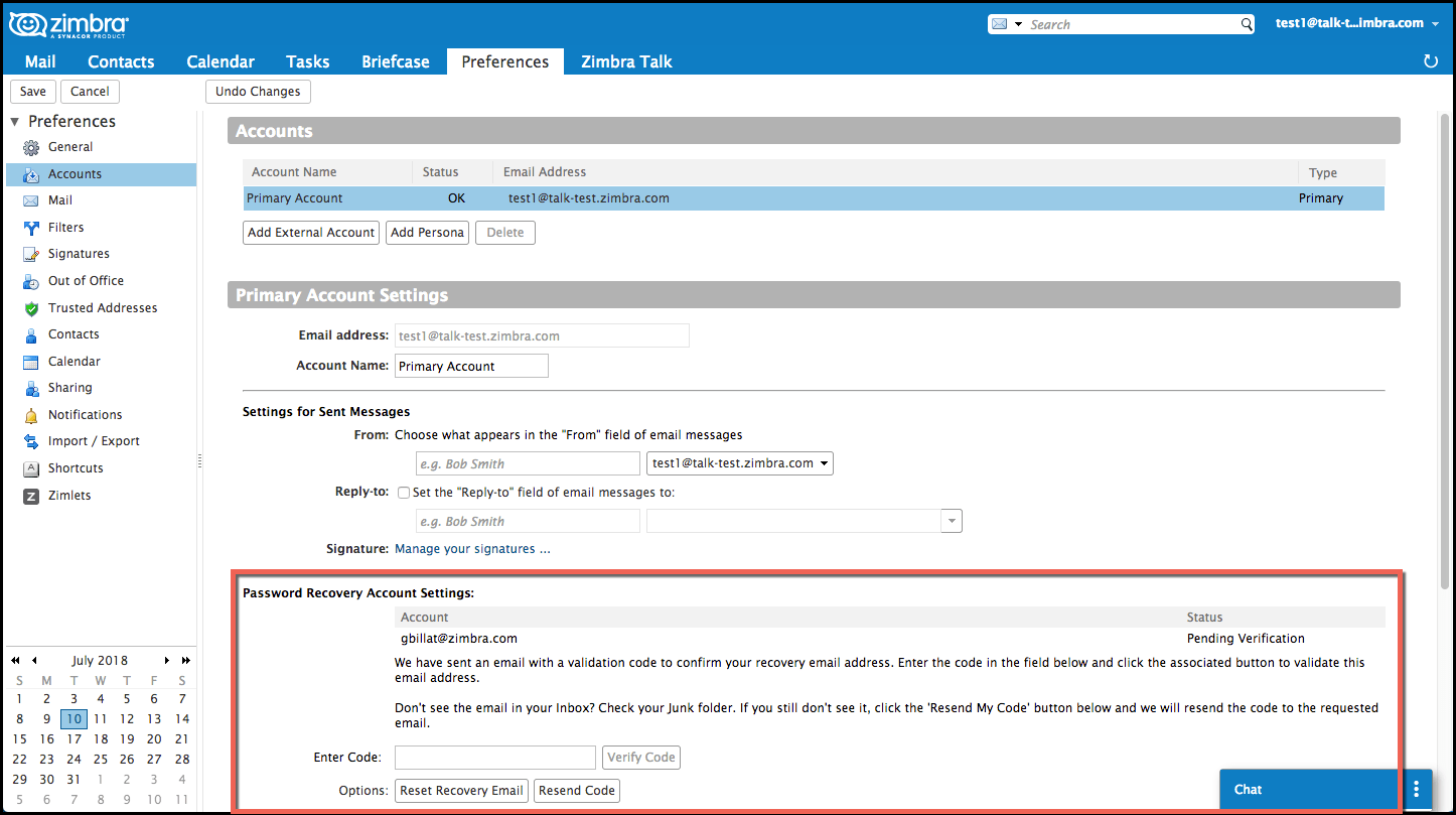 Did You Know? Password Reset in Zimbra 8 8 9