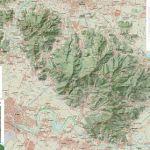 cartina monti pisani