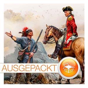 MB Masterbox • Indian Wars Series XVII century • Enemy Movement Report