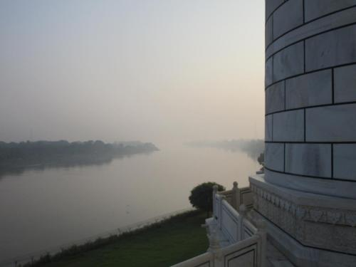 Taj Mahal - the Yamuna River