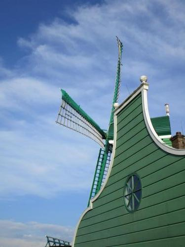 Windmill in Zaanse Schans.