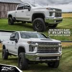 5 Ifs Lift Kits For The 2020 Chevy Gmc 2500hd Trucks Npa 161 Zone Offroad News
