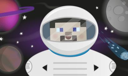 Prozkoumejte vesmír s Minecraftem
