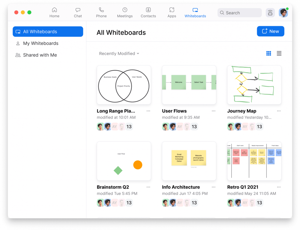 Coming Soon: A Whole New Way to Collaborate Using Zoom Whiteboard