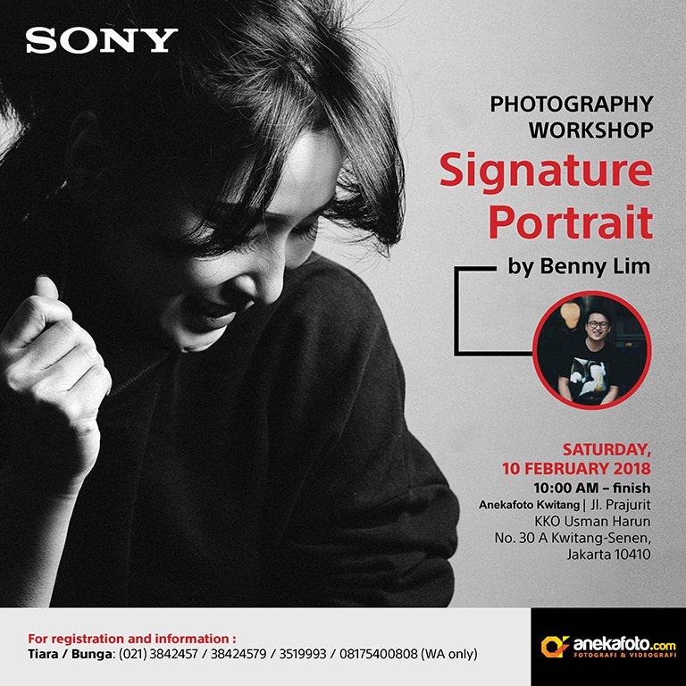 Photography Workshop Signature Portrait by Benny Lim