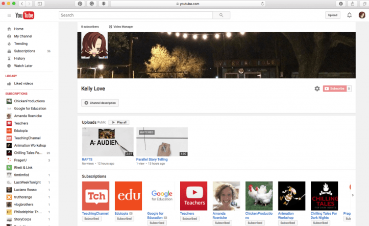 love youtube channel