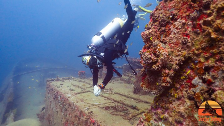 Wreck Diving Carriacou