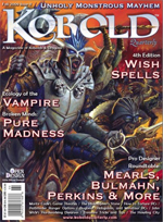 Kobold Quarterly, Fall 2009, Issue 11