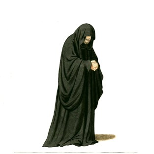 http://commons.wikimedia.org/wiki/File:Medieval_Priest,_Friar,_or_Monk_(5).JPG
