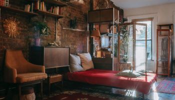 Studio Apartment, Small Apartment, Studio apartment look cozy, studio apartment look bigger