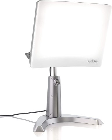 A Carex Day-Light Classic Plus Bright Light Therapy Lamp for SAD