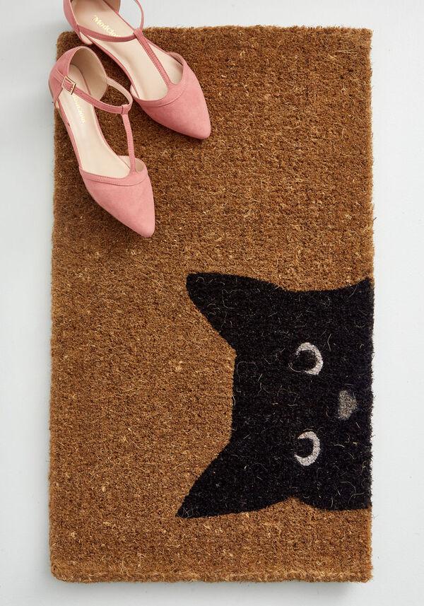 cat doormat from modcloth