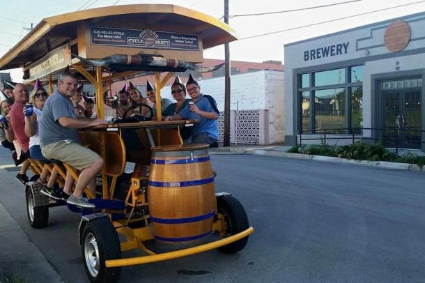 Beer Bus Fort Worth