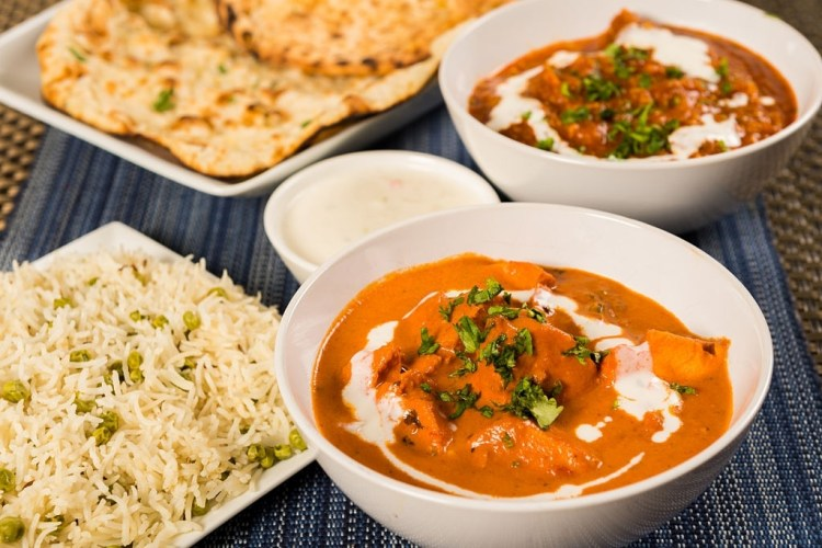 Indian food in New Delhi