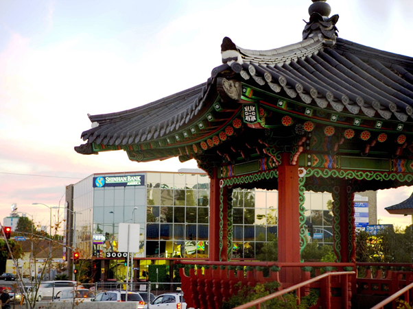 Korean Pavillion Garden, LA