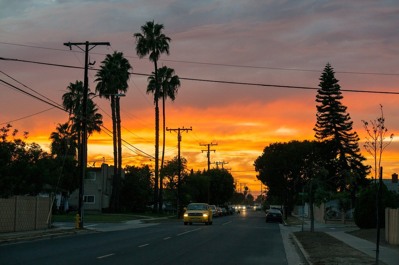 Sunset in Palms, los angeles, rooms for rent
