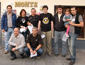 Monte porra - Giroa 2008